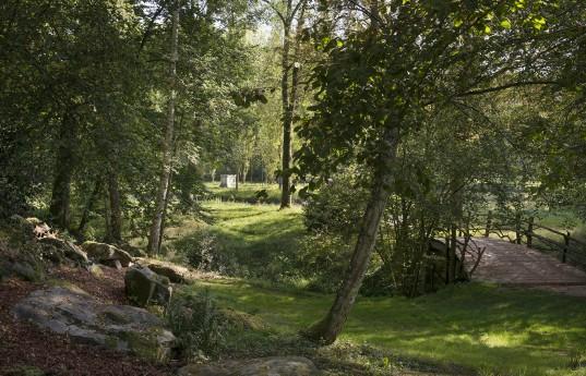 Parc Jean-Jacques Rousseau. Ermenonville. 2014